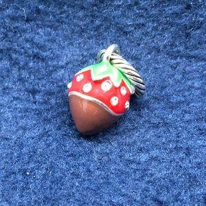 Brighton chocolate covered strawberry charm